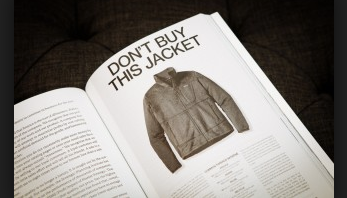 Don't Buy This Jacket advertisement
