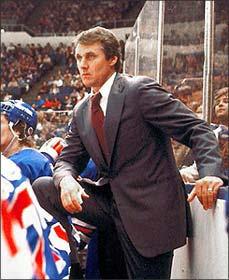 Herb Brooks, coach of Gold Medal-winning 1980 U.S. Men's Olympic Hockey Team