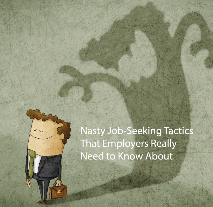Nasty Job Seeking Tactics Cover