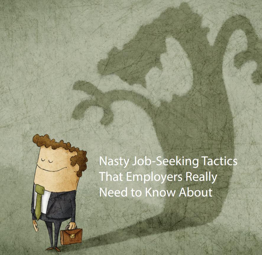 Nasty Job Seeking Tactics Cover